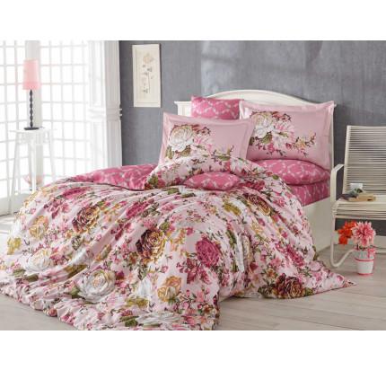 Постельное белье Hobby Home сатин Rosanna (розовый)
