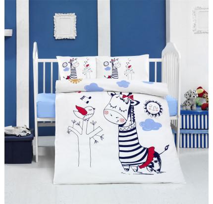 Детское белье в кроватку Arya Home Melodi