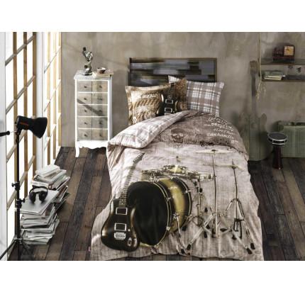 Hobby Home Rock Music (коричневый) детское постельное белье
