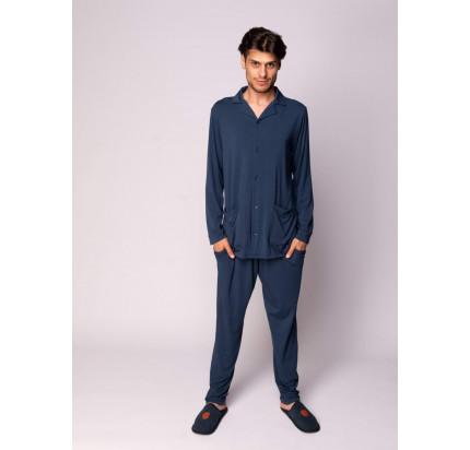Пижама мужская Sofi de Marko Адам (синяя)