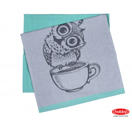 Набор салфеток Hobby Home Owl минт (50x70, 2 предмета)