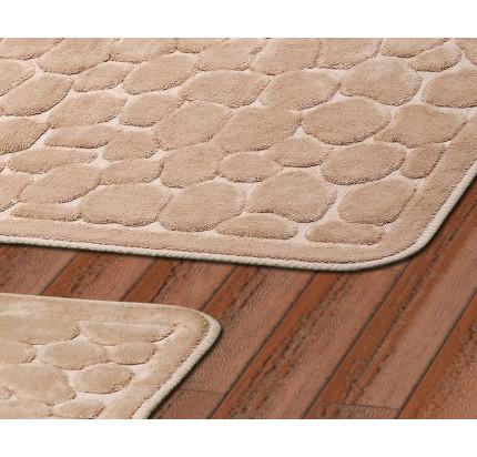 Набор ковриков Karven Stone бежевый (50x60+60x100)