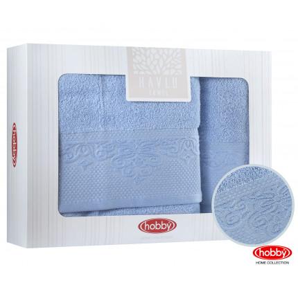 Набор полотенец Hobby Home Alice (2 предмета, синий)