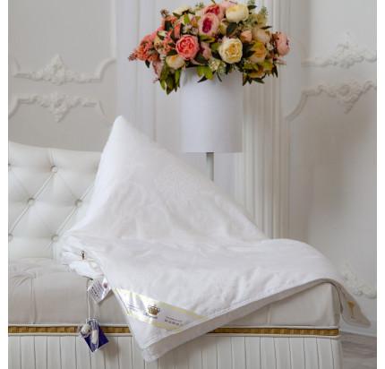 Одеяло Kingsilk Elisabette Элит белое (всесезонное)