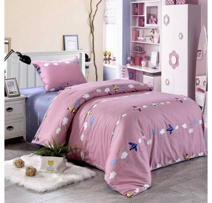 Sofi de Marko Самолетики (розовый) детское постельное белье