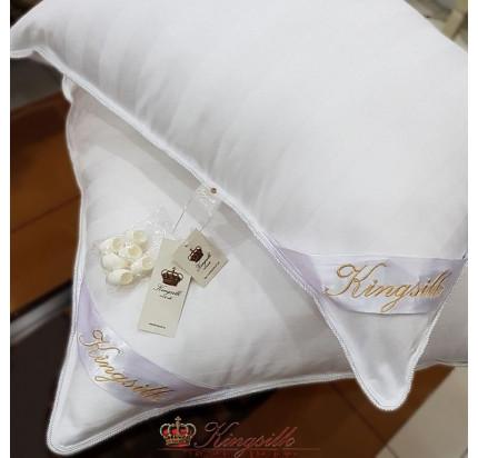 Подушка Kingsilk Premium белая (низкая)