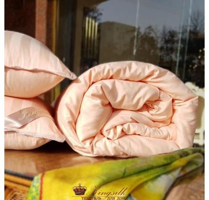 Одеяло Kingsilk Premium персиковое (всесезонное)