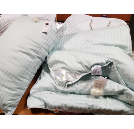 Одеяло Kingsilk Premium голубое (всесезонное)