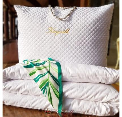Одеяло Kingsilk Premium белое (всесезонное)