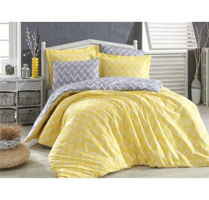Постельное белье Hobby Home поплин Nazende (желтый)