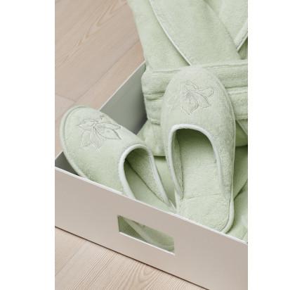 Тапочки Soft Cotton Lilium (зеленый)