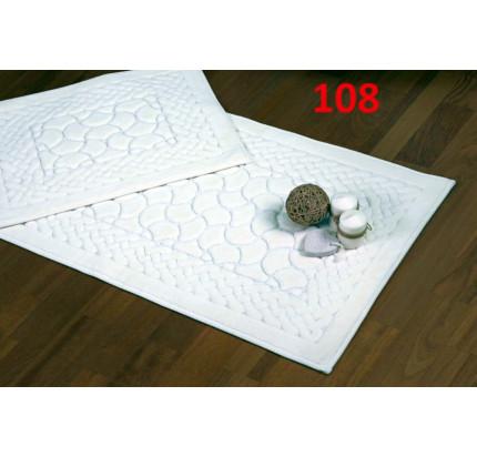 Набор ковриков Karven Hasankeyf кремовый (50x60+60x100)