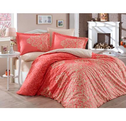 Постельное белье Hobby Home поплин Serenity (персиковый)