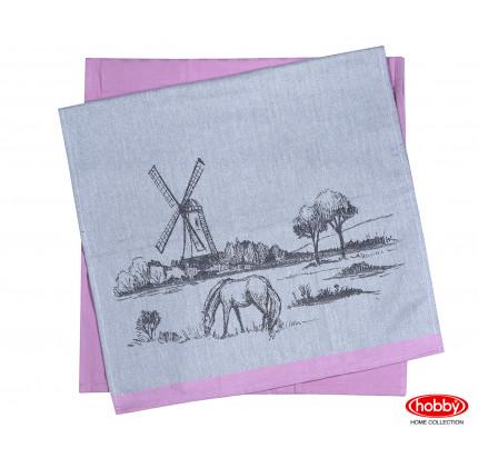 Набор салфеток Hobby Home Village розовый (50x70, 2 предмета)
