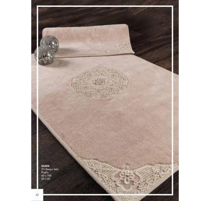 Набор ковриков Karven Quen пудра (50x60+60x100)