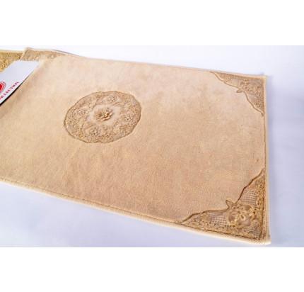 Набор ковриков Karven Quen капучино (50x60+60x100)