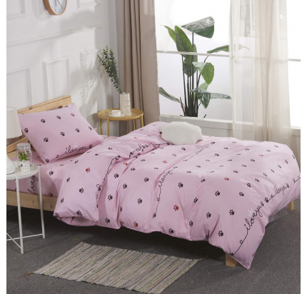 Sofi de Marko Лапки (розовые) детское постельное белье