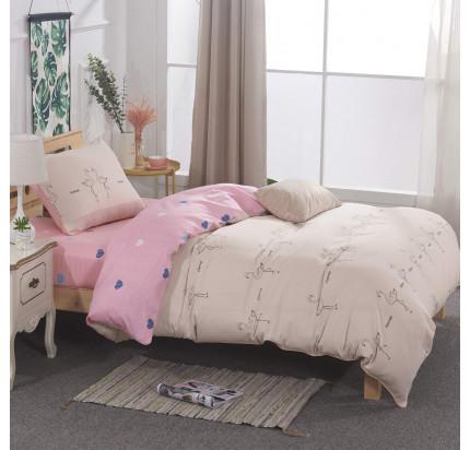 Sofi de Marko Даффи (розовая) детское постельное белье