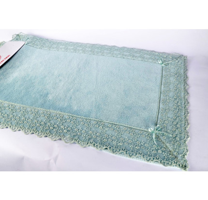 Набор ковриков Karven Venice бирюзовый (50x60+60x100)