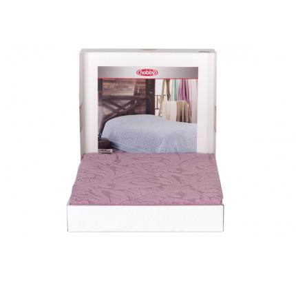 Махровое покрывало-простынь Hobby Home Collection Sultan (розовый)