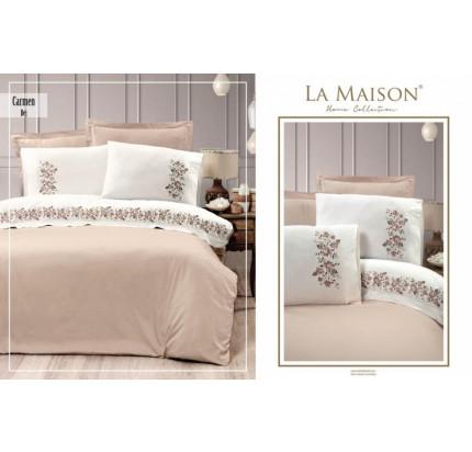 Постельное белье La Maison Carmen bej евро