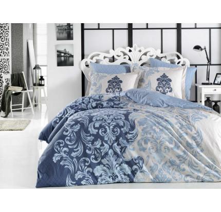Постельное белье Hobby Home фланель Mirella (синий)