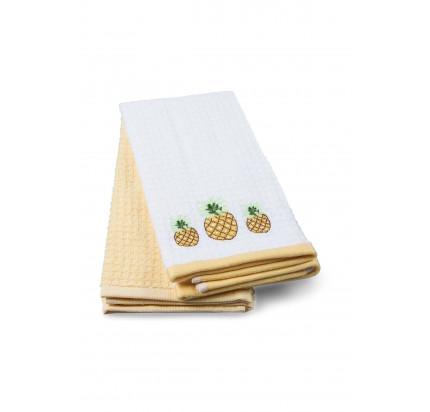 Салфетки для кухни TAC Pineapple (2 предмета, 40x60)