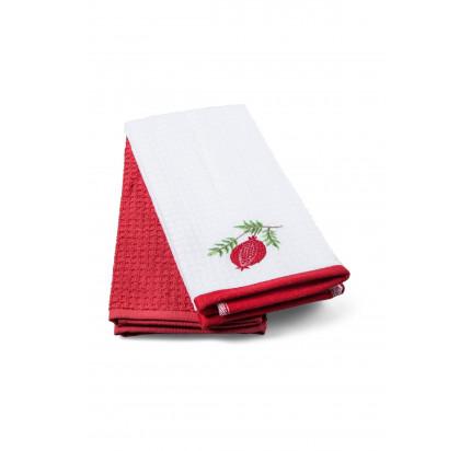 Салфетки для кухни TAC Pomegranate (2 предмета, 40x60)