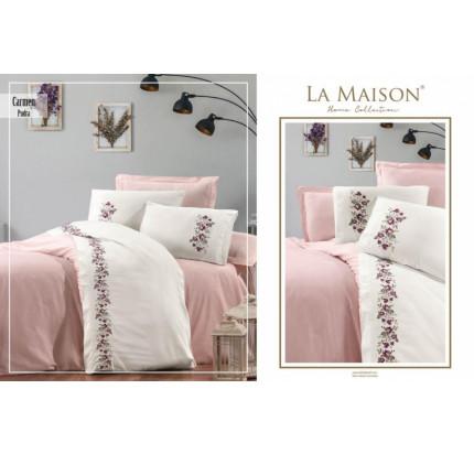 Постельное белье La Maison Carmen pudra евро