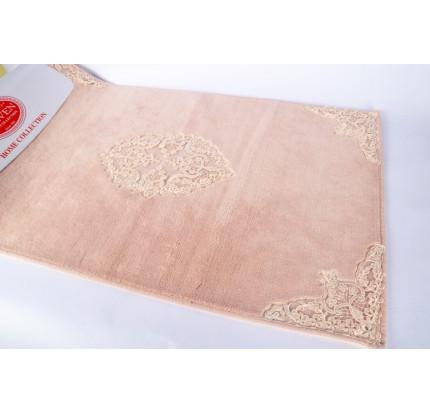 Набор ковриков Karven Tual пудра (50x60+60x100)