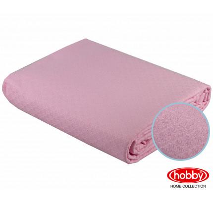 Вафельное покрывало-пике Hobby Home Collection Anastasiya (светло-розовый) 220x240