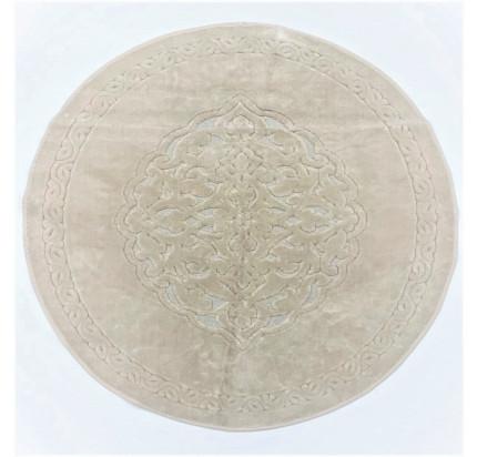 Круглый коврик Karven Osmanli слоновая кость 120 см.