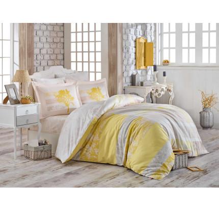 Постельное белье Hobby Home сатин Elsa (желтый)