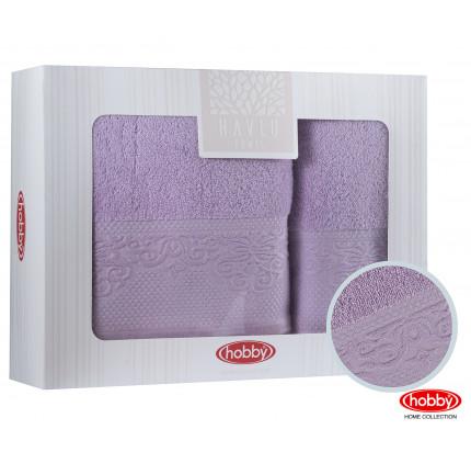 Набор полотенец Hobby Home Alice (2 предмета, лиловый)