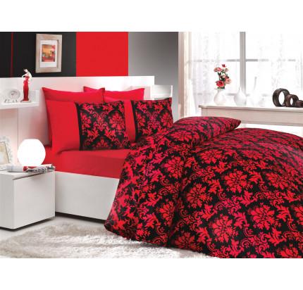Постельное белье Hobby Home сатин Avangarde (черный)