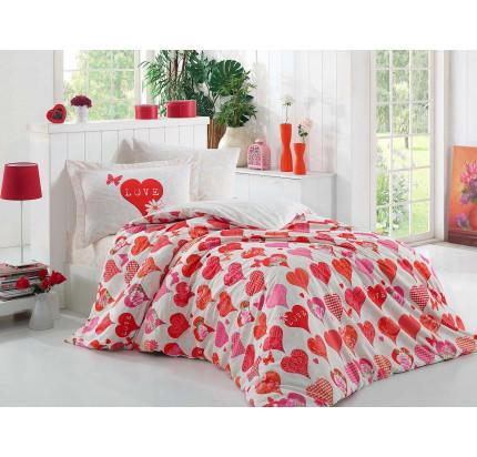 Hobby Home Vera (красный) детское постельное белье