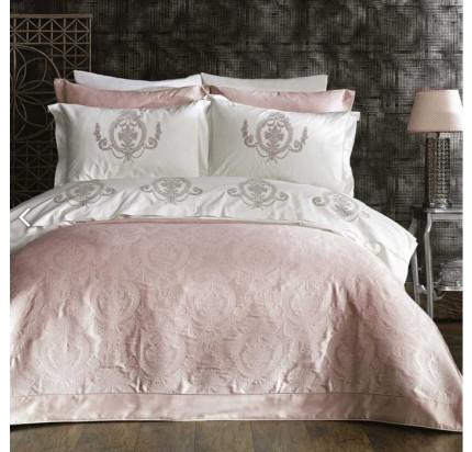 Набор с покрывалом Zebra Casa Puglia (розовый)