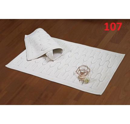 Набор ковриков Karven Yay кремовый (50x60+60x100)