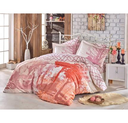 Постельное белье Hobby Home сатин Alandra (розовый)
