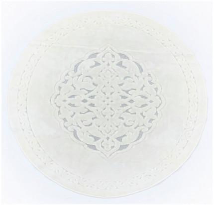 Круглый коврик Karven Osmanli кремовый 120 см.