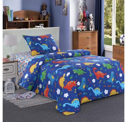 Sofi de Marko Динозаврик (синий) детское постельное белье