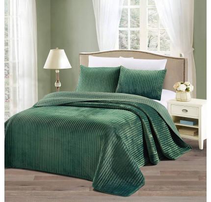 Покрывало Sofi de Marko Вельмонт (зеленое) 230x250