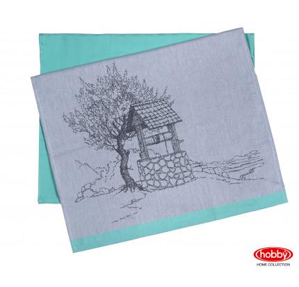 Набор салфеток Hobby Home Well минт (50x70, 2 предмета)