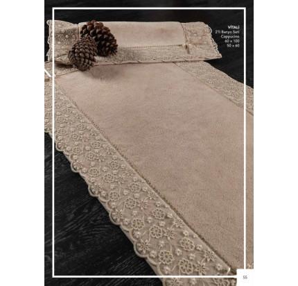 Набор ковриков Karven Vitaly капучино (50x60+60x100)