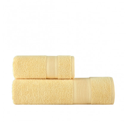 Полотенце Arya Solo Soft (желтый)