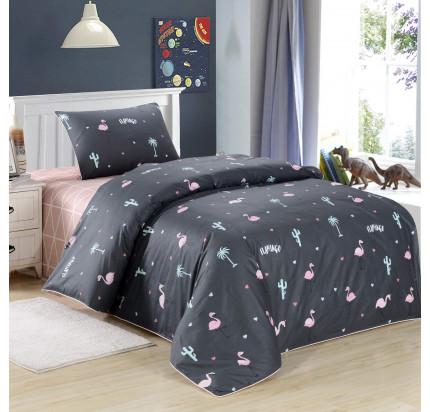Sofi de Marko Фламинго (черный) детское постельное белье