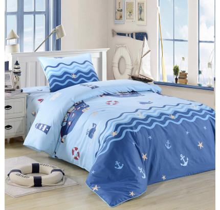 Sofi de Marko Юнга (синий) детское постельное белье