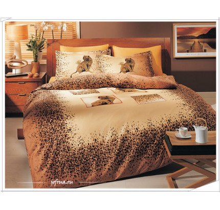 Постельное белье TAC Savana (коричневое)