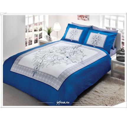 Постельное белье TAC Caron (синее)