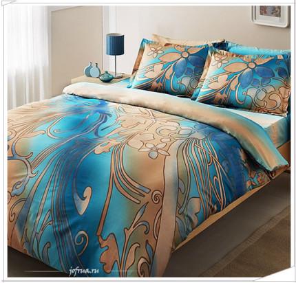 Постельное белье TAC Punto (голубое)